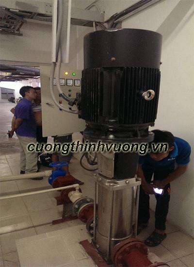 Sửa máy bơm trục đứng, sửa máy bơm lọc nước R/O tại Hà Nội