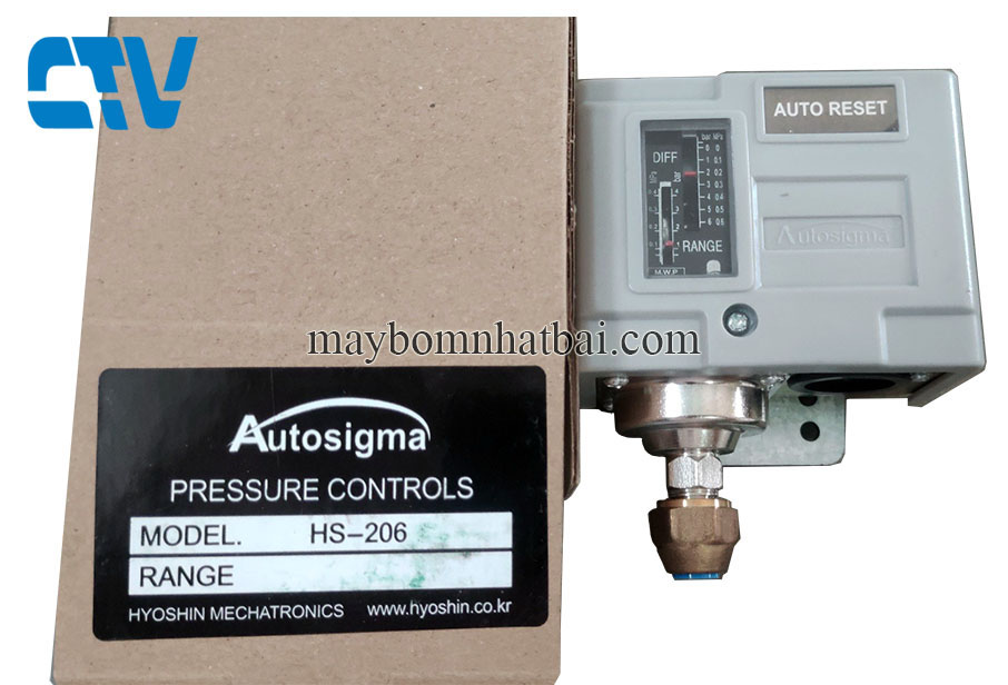 Công tắc áp suất Autosigma HS-206