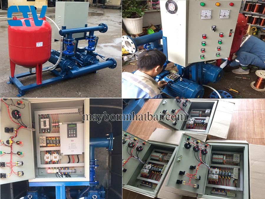 Cường Thịnh Vương tư vấn, lắp đặt tủ điện bảo vệ hệ thống máy bơm tăng áp